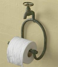 Farmhouse Bathroom Tissue Water Faucet Holder