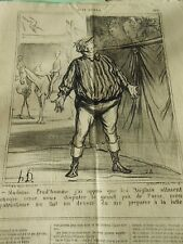HD 3780 DAUMIER 1870 Madame Prud'man, j'ai learned that the English would