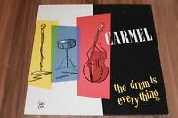 Carmel – The Drum Is Everything (1984) (Vinyl) (Metronome – 810 236-1)