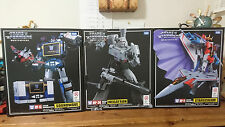 Takara Tomy Transformers Masterpiece MP-36 MP-11 MP-13 Complete Set