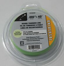 "Universal String  Round Trimmer Line   .080"" x 40 '  Weedeater  string NEW!!!"