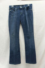 "Rock and Republic ""Kurt"" Womens Jeans Size 28 Excellent Used Cond Green Stitch"