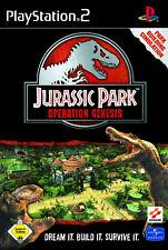 Jurassic Park Operation Genesis con embalaje original (ps2) - DVD casi como nuevo