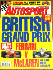 Autosport 9/7/98* BRITISH GP PREVIEW ISSUE - WARWICK & MORBIDELLI in BTCC