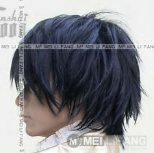 Death Note L Short Black Cosplay Wig