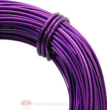 Aluminum Craft Wire 18 Gauge Purple 39 Feet 11.8 Meters Wrapping Sculpture