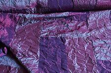 Kleidertaft Taft Stoff lila changierend Patchwork #02032