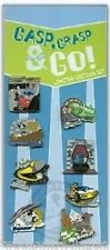 Disney Pin Trading Set: WDW/DLR Gasp, Grasp & Go! Collection (8 LE Pins)