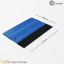 LARGE VINYL SQUEEGEE TOOL VINYL CAR WRAP WRAPPING FELT EDGE