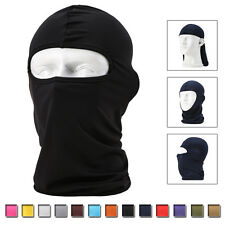 Full Face Mask Balaclava Ultra-thin Cycling Motorcycle Ski Neck Protector New