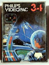 cassette jeu vidéo Philips Vidéopac 34 satellite attaque attack game computer