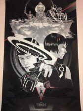 Tron Legacy Martin Ansin Mondo Movie Poster Daft Punk Disney Variant Art Print