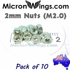 Nuts M2.0 - 2.0mm Mini Micro (pack of 10)