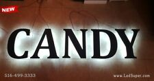 Newled Back Lit Channel Letters Sign 12 Customize Orders Only