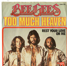 """Bee GEES-troppo Heaven 7"""" SINGLE 1978/PIC Manica"""