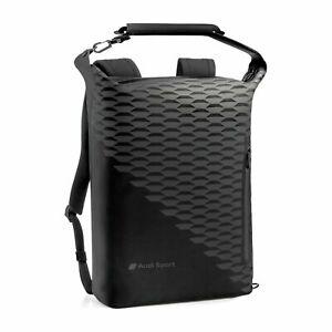 "Audi Sport Backpack Black 3152000800 15"" Laptop Genuine New"