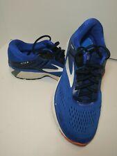 Brooks Adrenaline GTS 18 Running Shoes Blue White Athletic Men's Shoe Size 10.5D