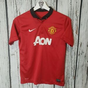 Kids Nike Manchester United home soccer jersey 2013/14 Van Persie #20 size L