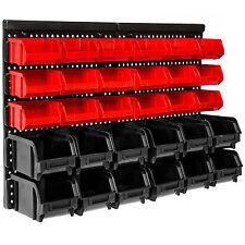Tectake estante de 31 elementos bandeja de pitorro cajas de almacenaje conjunto