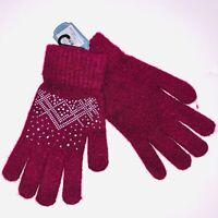FLOSO Ladies Winter Capped Fingerless Magic Gloves GL225
