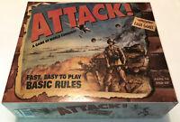 Attack! - Attack - Eagle Games - WW2 Board Game - VG Cond. - 100% Complete