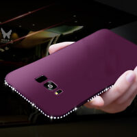 Luxury Diamond Bling Glitter Soft Rubber Case Cover For Samsung Galaxy S9+ S8 S7
