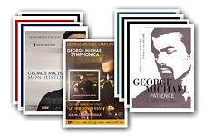 GEORGE MICHAEL - 10 promotion poster - sammelbar postkarte set # 3