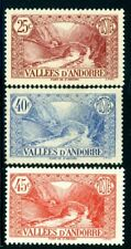 ANDORRA FRENCH  31, 33, 35  (3)  CAT $ 38.00