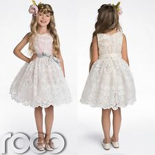 Flower Girl Dresses, Bridesmaid Dress, Champagne Dress, Pink Dress, 2 - 8 years