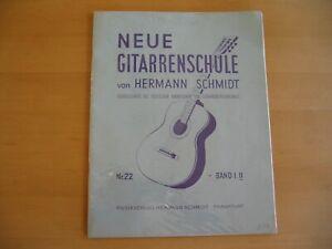 Neue Gitarrenschule von Hermann Schmidt Nr 22 Band II
