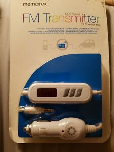 MEMOREX MP3 PLAYER FM TRANSMITTER IN SEALED PACKAGING