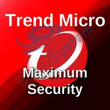Trend Micro Maximum Security 2018 - 3 PC/MD/1 Anno/Nuova/ESD/NON PREATTIVATA