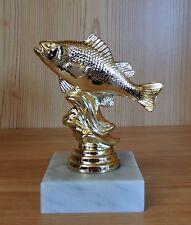 1 Angeln Figur Karpfen Fische mit Gravur (Teich Pokal Pokale Angelsport Angler)