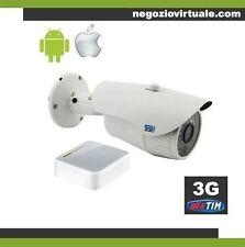 Telecamera videosorveglianza umts 3g controllabile da remoto pc e cellulare