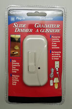 Plug-In Slide Lamp Dimmer Control Existing Indoor Lamp - New