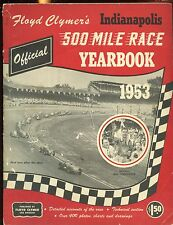 1953 Floyd Clymer's Indianapolis 500 Car Race Yearbook