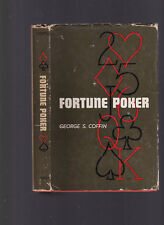 Fortune Poker (Gambling, cards) by George S. Coffin, 1949 1st edition HC w/DJ