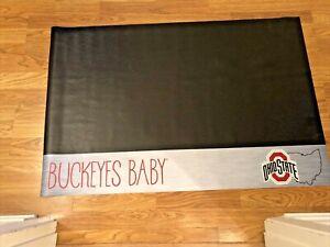 "Ohio State Buckeyes 26"" x 42"" Vinyl Grill Mat"