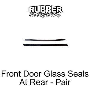 1969 Mercury Marquis & Monterey Front to Rear Door Glass Seals - pair