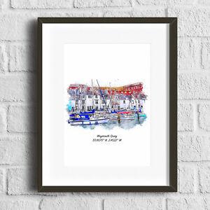 Weymouth Quay Dorset Art Print