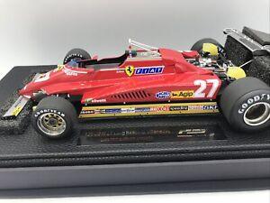 1/18 GP Replicas 1982 Ferrari 126 C2 N 27 Long Beach G. Villeneuve JM Part GP19C