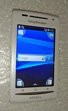 Téléphone Smartphone Sony Ericsson Xperia X8 - (E15i) blanc Bleu débloqué