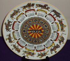 Wedgwood Animal Carnival 1972 Calendar Collector's Plate 10""
