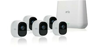 Arlo Pro 2 VMS4530P-100NAR Smart Security System with 5 Cameras