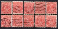 AUSTRALIA = GV 1-1/2d `Head`. 1926/30. Used. Unchecked for Shades, etc. (b)