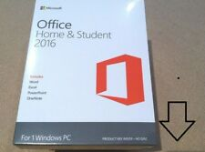 MICROSOFT OFFICE HOME AND STUDENT 2016 WINDOWS PC 32/64 BIT PRODUCT LICENSE KEY