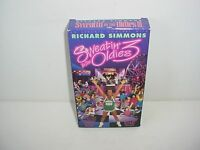 Richard Simmons Sweatin to The Oldies 3 VHS Video Tape Fitness Workout