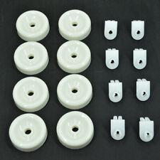 8 Lower Rack Wheels For Frigidaire Dishwasher Wd35X21038 Ap5986365 Ge