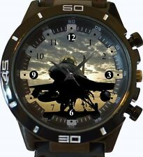 F16 Fighter Jet su vettore NUOVA GT Series Sport Unisex Watch
