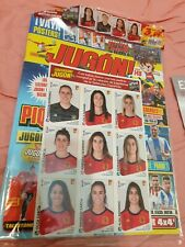 RARE Panini Women World Cup France 2019. Spanish update set (extra). RARITY!!